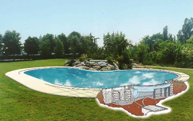 Quali sono le fasi di costruzione di una piscina interrate il pi cliccato - Costo di una piscina interrata ...